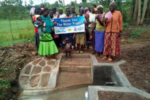 The Water Project: Musango Community, M'muse Spring -  New Protected Spring