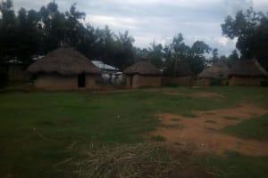 The Water Project: Nambatsa Community, Odera Spring -  Compound