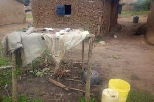 The Water Project: Nambatsa Community, Odera Spring -  Dish Drying Rack