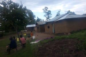 The Water Project: Nambatsa Community, Odera Spring -  Homestead