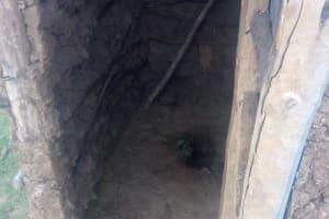 The Water Project: Nambatsa Community, Odera Spring -  Inside A Community Members Latrine