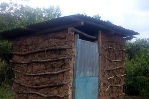 The Water Project: Nambatsa Community, Odera Spring -  Latrine