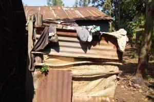 The Water Project: Irumbi Community, Okang'a Spring -  Latrine