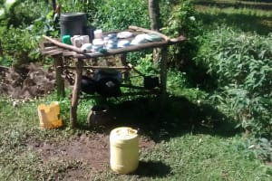 The Water Project: Musiachi Community, Thomas Spring -  A Dishrack In One Of The Homestead We Visited