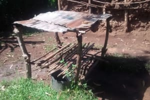 The Water Project: Musiachi Community, Thomas Spring -  Dish Drying Rack