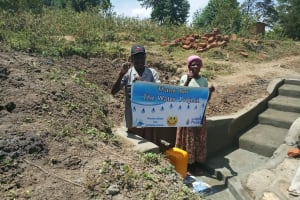 The Water Project: Futsi Fuvili Community, Simeon Shimaka Spring -  Thank You