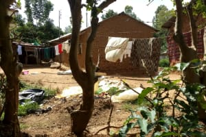 The Water Project: Indete Community, Udi Spring -  Clothes Hand To Dry