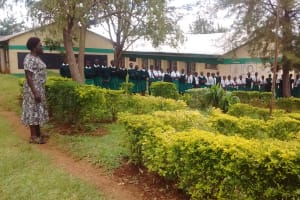 The Water Project: ACK Milimani Girls' Secondary School -  Girls At The Parade Grounds