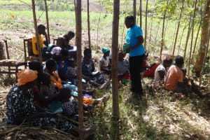 The Water Project: Elukuto Community, Isa Spring -  Training Meeting