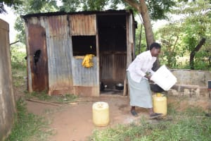 The Water Project: Wee Primary School -  Kitchen