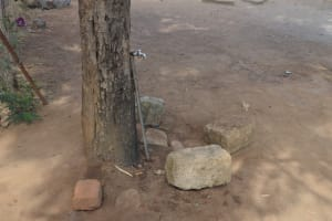 The Water Project: Wee Primary School -  Piped Water Faucet