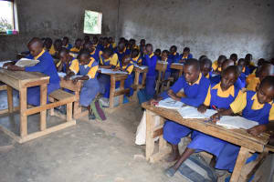 The Water Project: Wee Primary School -  Students In Class