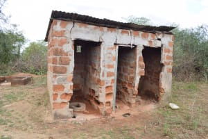 The Water Project: Kyamatula Primary School -  Decomissioned Latrines