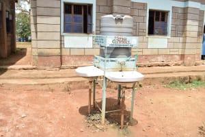 The Water Project: Kyamatula Primary School -  Handwashing Point