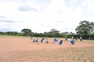 The Water Project: Kyamatula Primary School -  School Grounds Kids At Play