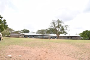 The Water Project: Kyamatula Primary School -  School Grounds