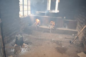 The Water Project: Kyamatula Primary School -  School Kitchen