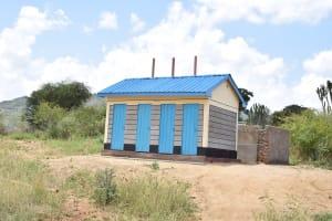 The Water Project: Kithoni Secondary School -  Boys Latrines