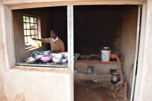 The Water Project: Kithoni Secondary School -  Kitchen