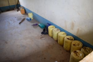 The Water Project: Kithoni Secondary School -  Water Storage Containers
