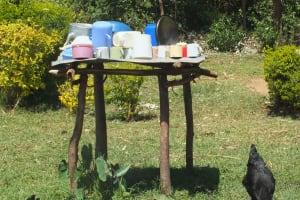 The Water Project: Vilongo Community -  Vilongo Community Dishracks