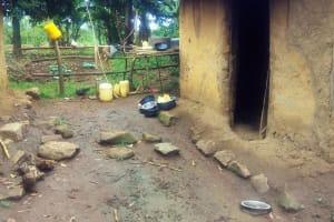 The Water Project: Emulakha Community, Alukoye Spring -  Sample Community Kitchen