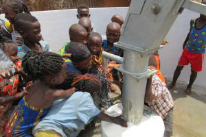 The Water Project: Kigbal Community -  Clean Water