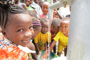 The Water Project: Kigbal Community -  Excited About Clean Water