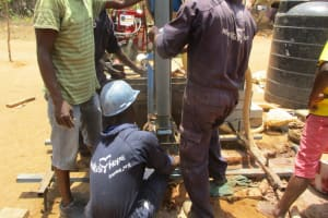 The Water Project: Kigbal Community -  Drilling