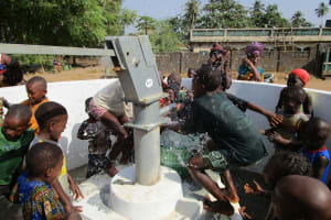 The Water Project: Tholmosor Community, Alpha Dabola Road -  Clean Water