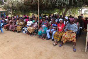 The Water Project: Tholmosor Community, Alpha Dabola Road -  Training Attendees