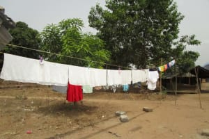 The Water Project: Kasongha Community, Kombrai Road -  Clothesline