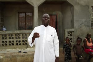 The Water Project: Kasongha Community, Kombrai Road -  Interview Sheik Alhaji Ahmad Sesay