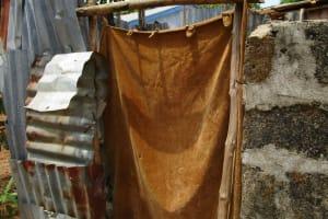 The Water Project: Kasongha Community, Kombrai Road -  Latrine