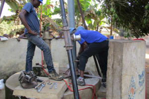 The Water Project: Kasongha Community, 3A Nahim Drive -  Drilling