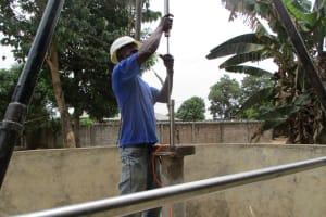 The Water Project: Kasongha Community, 3A Nahim Drive -  Pump Installation