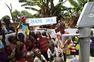 The Water Project: Kasongha Community, 3A Nahim Drive -  Thank You