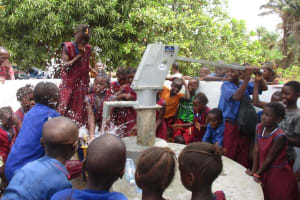 The Water Project: Sankoya Community, Prophecy Primary School -  Clean Water