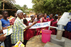 The Water Project: Sankoya Community, Prophecy Primary School -  Thank You