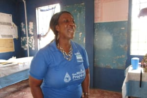 The Water Project: Yongoroo Community, New Life Clinic -  Hygine Training Facilitator
