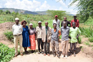 The Water Project: Mbuuni Community B -  Mbuuni Self Help Group Members