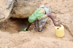 The Water Project: Mbau Community -  Current Water Source