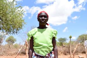 The Water Project: Katuluni Community B -  Ndineesi Uu Shg Member Mary Mutemi