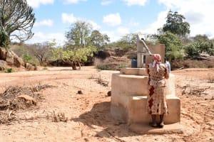 The Water Project: Ilandi Community A -  Nzalae Community Well