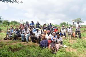The Water Project: Kivandini Community A -  Ndue Nguu Shg