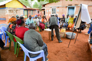 The Water Project: Kathuni Community A -  Soap Training