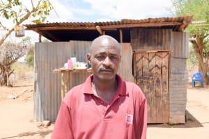 The Water Project: Katuluni Community C -  Ndineesi Uu Shg Member Jeremiah Ngei