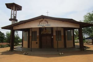 The Water Project: Targrin Community -  Church