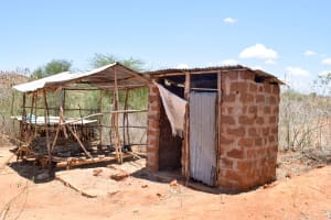 The Water Project: Katung'uli Community B -  Latrine