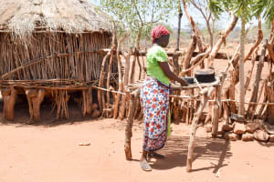 The Water Project: Katuluni Community B -  Dish Rack